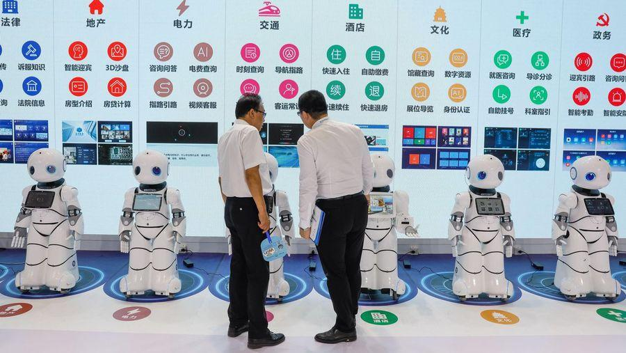 China quiere ser la nueva superpotencia de la robótica
